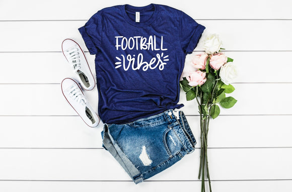 Football Vibes T-Shirt - Navy