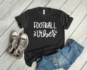 Football Vibes T-Shirt - Charcoal