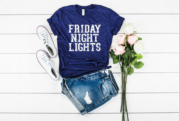 Friday Night Lights T-Shirt - Navy