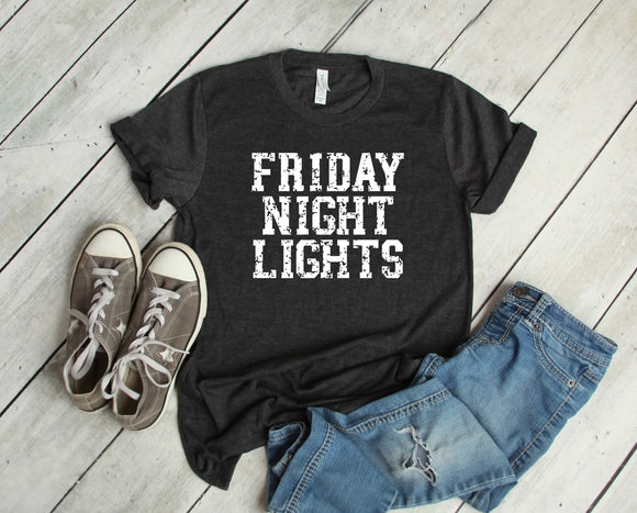 Friday Night Lights T-Shirt - Charcoal