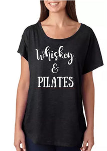 Whiskey and Pilates Dolman Top