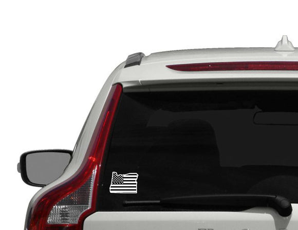 Oregon Flag vinyl decal