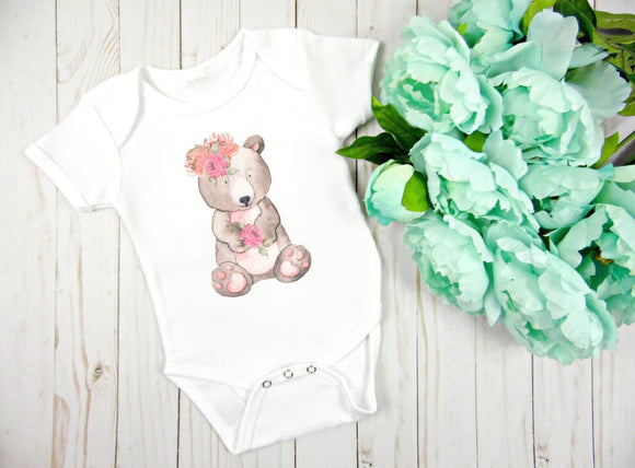 Bear Baby Bodysuit