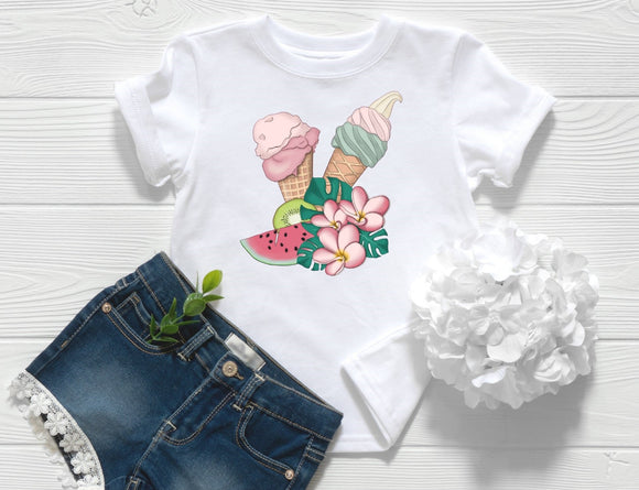 Ice Cream Toddler Shirt