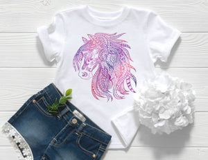 Zentangle Horse Toddler Shirt
