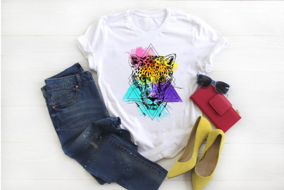 Multi Color Leopard Shirt