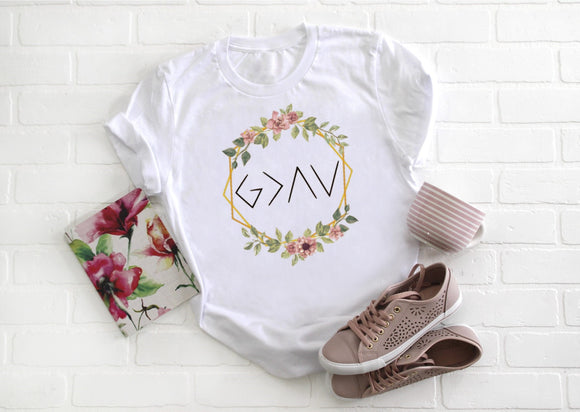 God is Greater Shirt