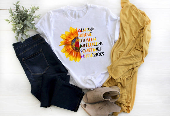 Autism Sunflower Shirt