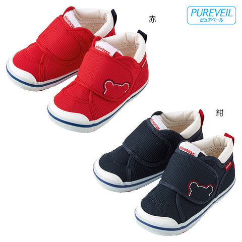 BABY SHOES - 2nd Step (Pureveil)-2nd Step-MIKI HOUSE Singapore