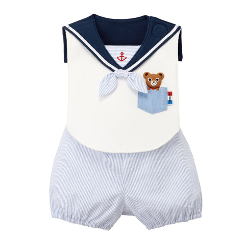 BIB & GYM SHORTS SET-Wear Boy-MIKI HOUSE Singapore