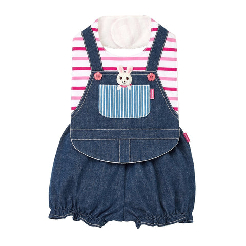 BIB&BLOOMER SET-Wear Boy-MIKI HOUSE Singapore