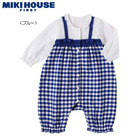 COVERALL-Wear Girl-MIKI HOUSE Singapore