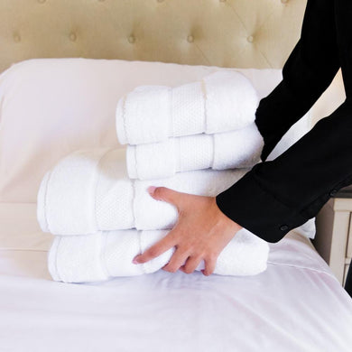 Premium Towel Set - plush towel