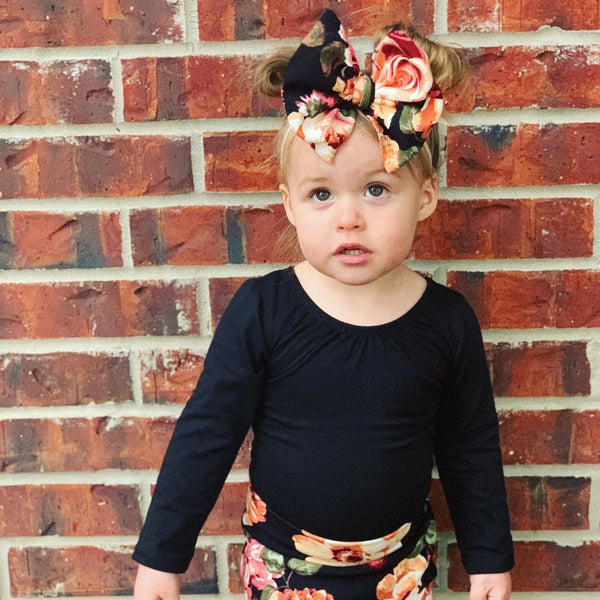 Finley Floral Bows