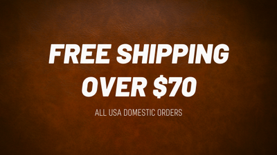 FREE domestic shipping over $70