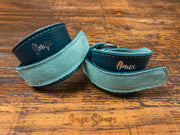 Tropical Teal High Top Wrist Wraps