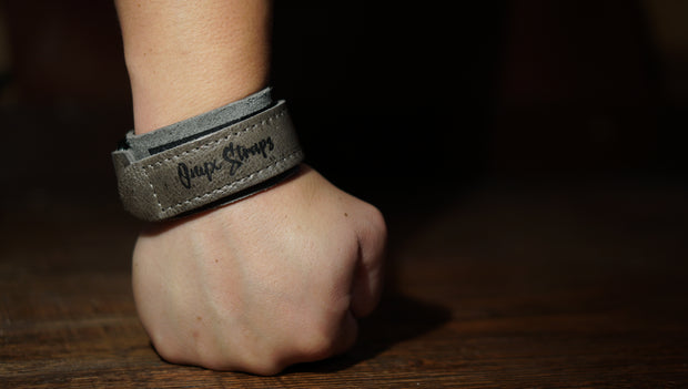 The Cool Grey Low Top Wrist Wraps