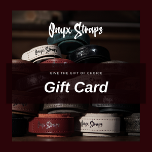 Onyx Straps Gift Card