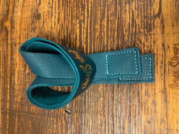 Limited Edition Tropical Teal Lifting Straps