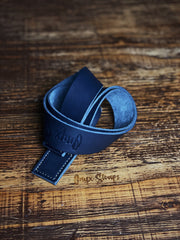 The Blue Steel Lifting Strap