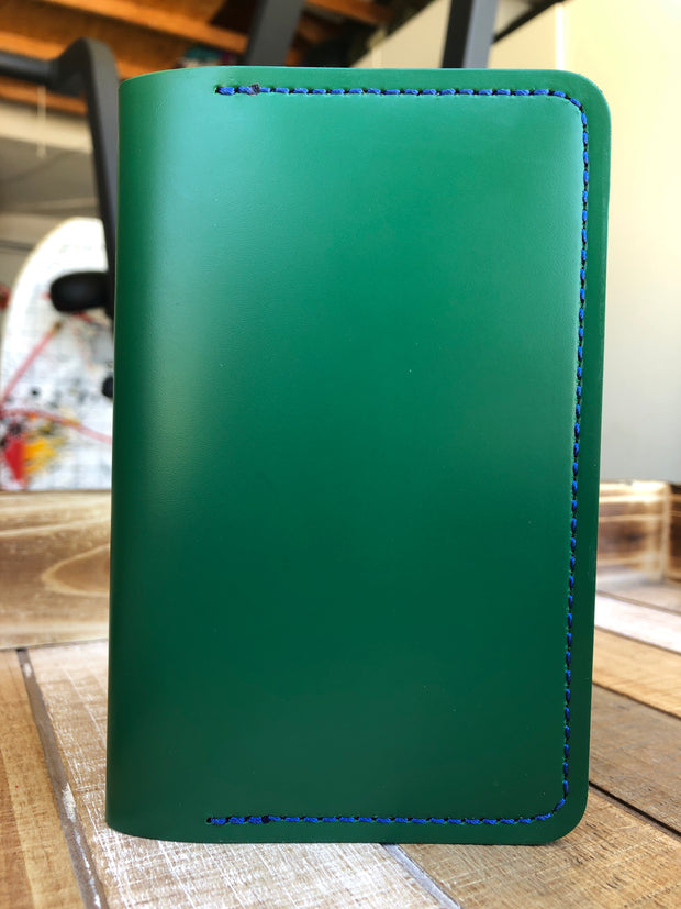 Green Leather Notebook Cover
