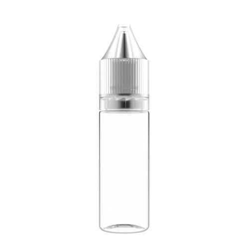 Frasco Unicorn 15ml V3 Clear Tampa Clear (PACK)