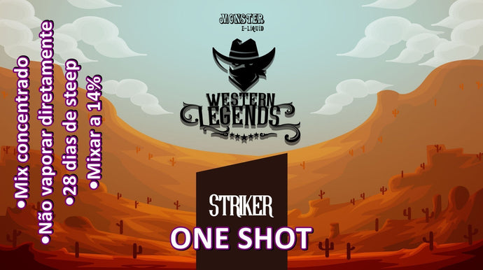 Monster OneShot Striker 10ml - Flave Brasil