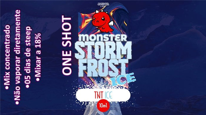 Monster OneShot TNT Ice 10ml - Flave Brasil