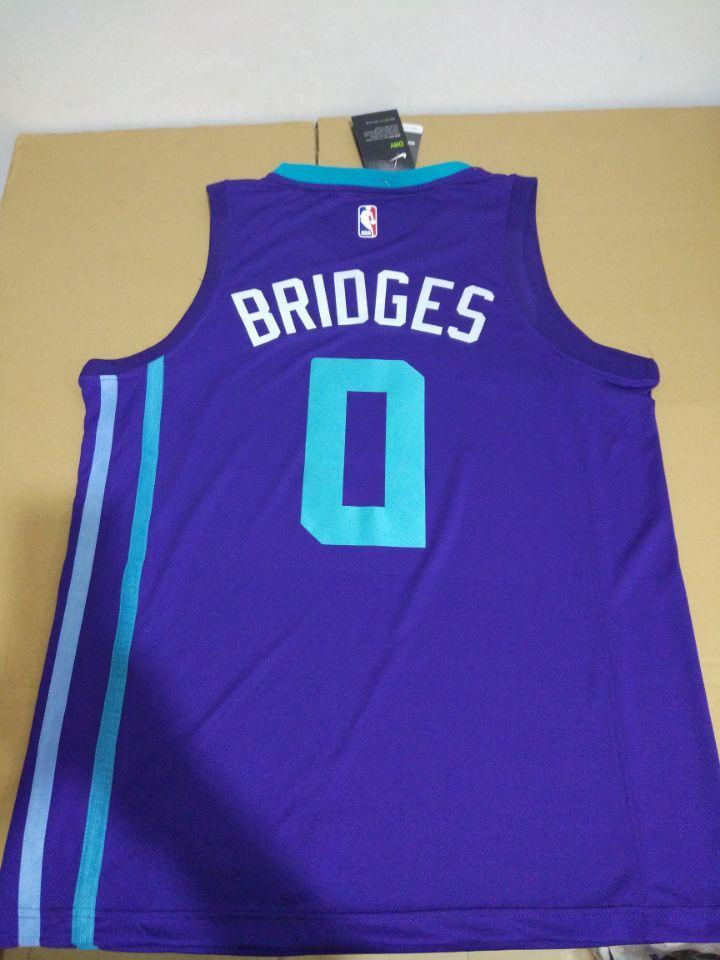 6d6185974fdd ... Men 0 Miles Bridges Jersey Purple Charlotte Hornets Jersey Fanatics ...