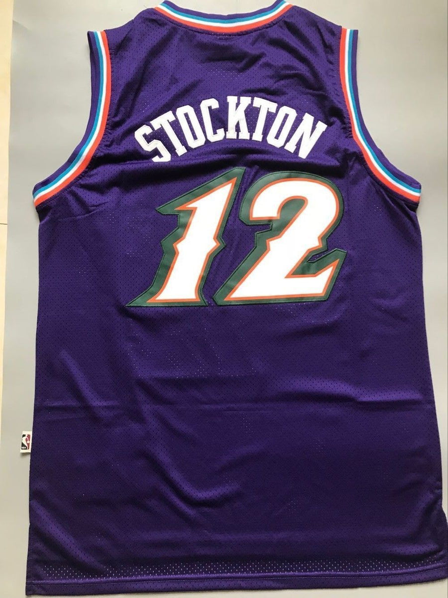 48bcba12f ... order men 12 john stockton jersey purple utah jazz jersey throwback  swingman nrevo f63f9 6410d order mitchell ness ...