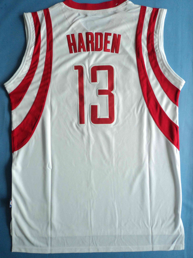 reputable site 9e943 805b4 Men 13 James Harden Jersey White Swingman Houston Rockets Fanatics