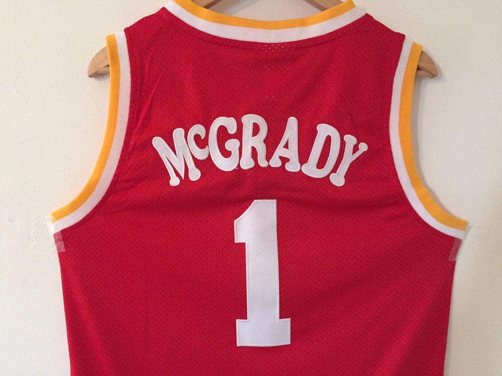 more photos 780a6 5c4fb tracy mcgrady throwback rockets jersey