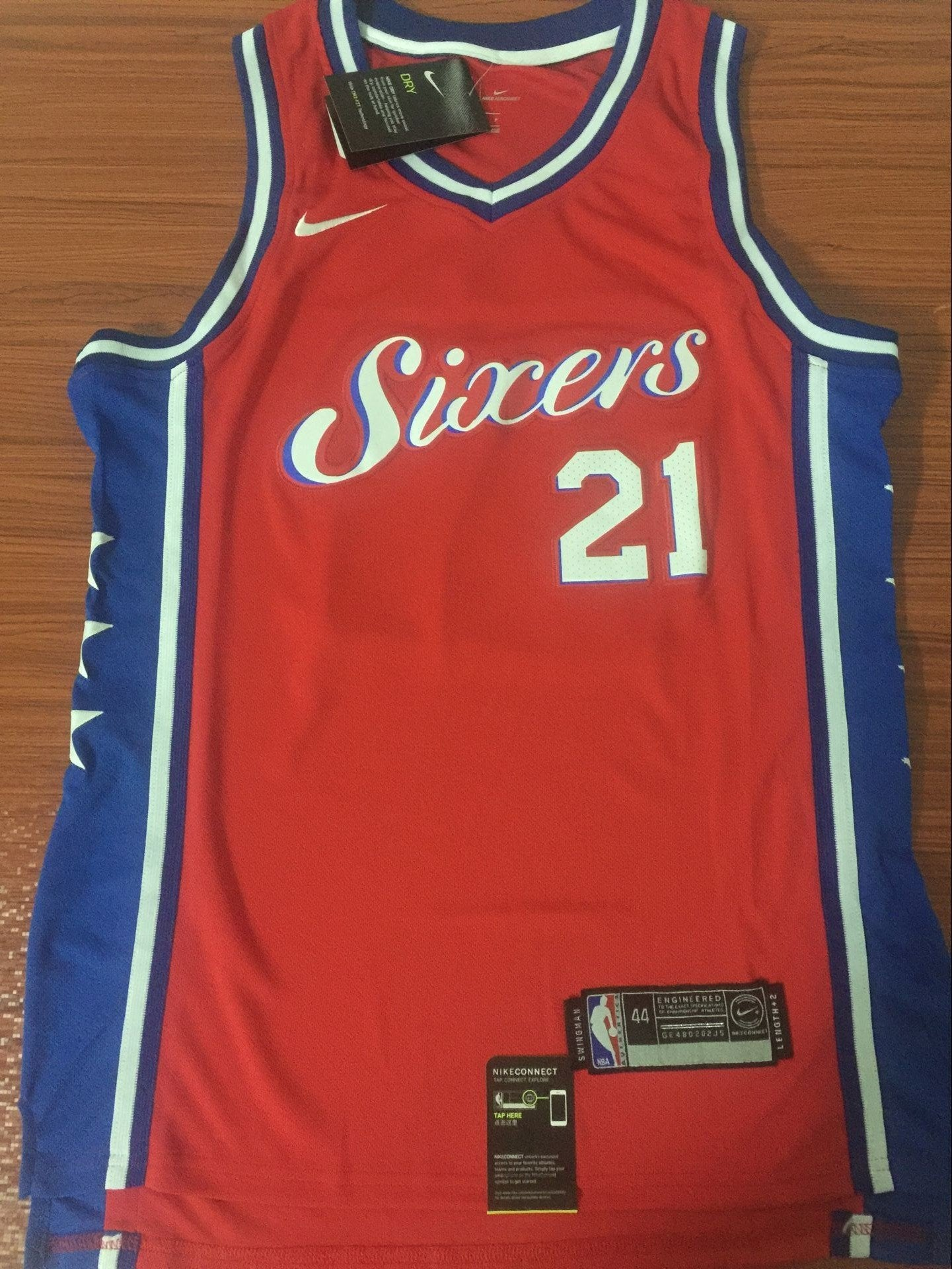 ... order men 21 joel embiid red jersey city edition philadelphia 76ers  jersey fanatics b6305 74175 ad163fc8b