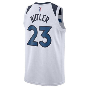 half off ba4e3 b2929 Men 23 Jimmy Butler Jersey White Minnesota Timberwolves Jersey Fanatics