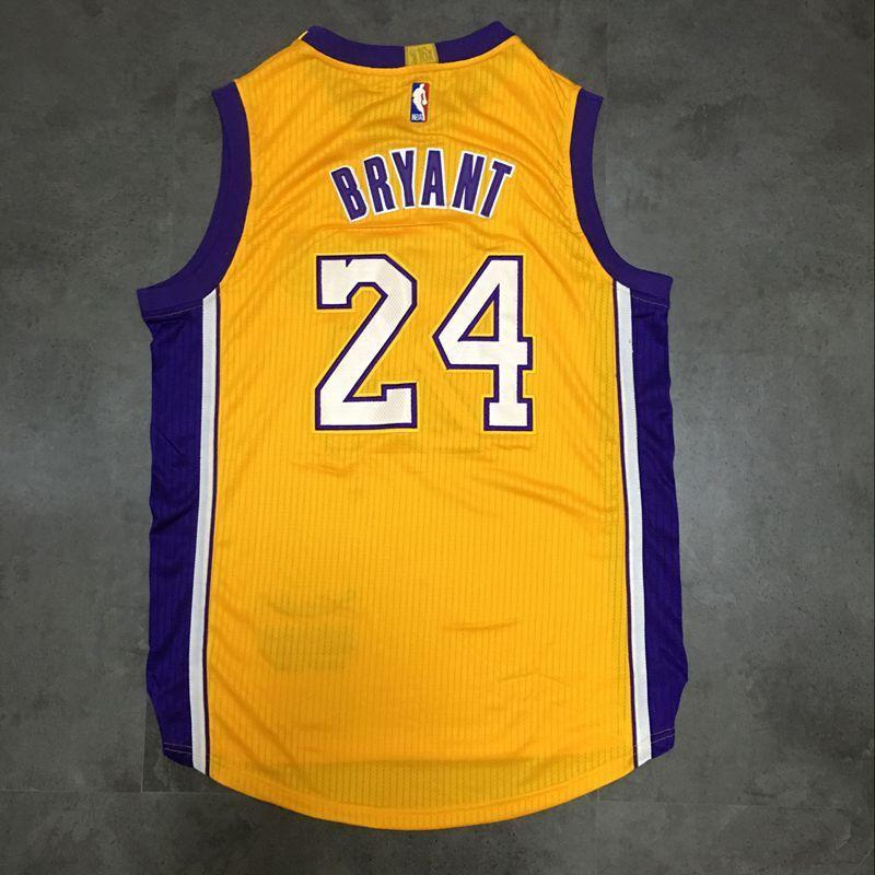 1cc2cf880731 ... Men 24 Kobe Bryant Jersey Yellow Los Angeles Lakers Swingman Jersey ...