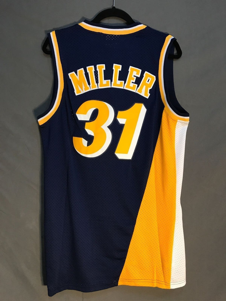 new arrival 589b7 b292a Men 31 Reggie Miller Jersey Indiana Pacers Jersey Throwback ...