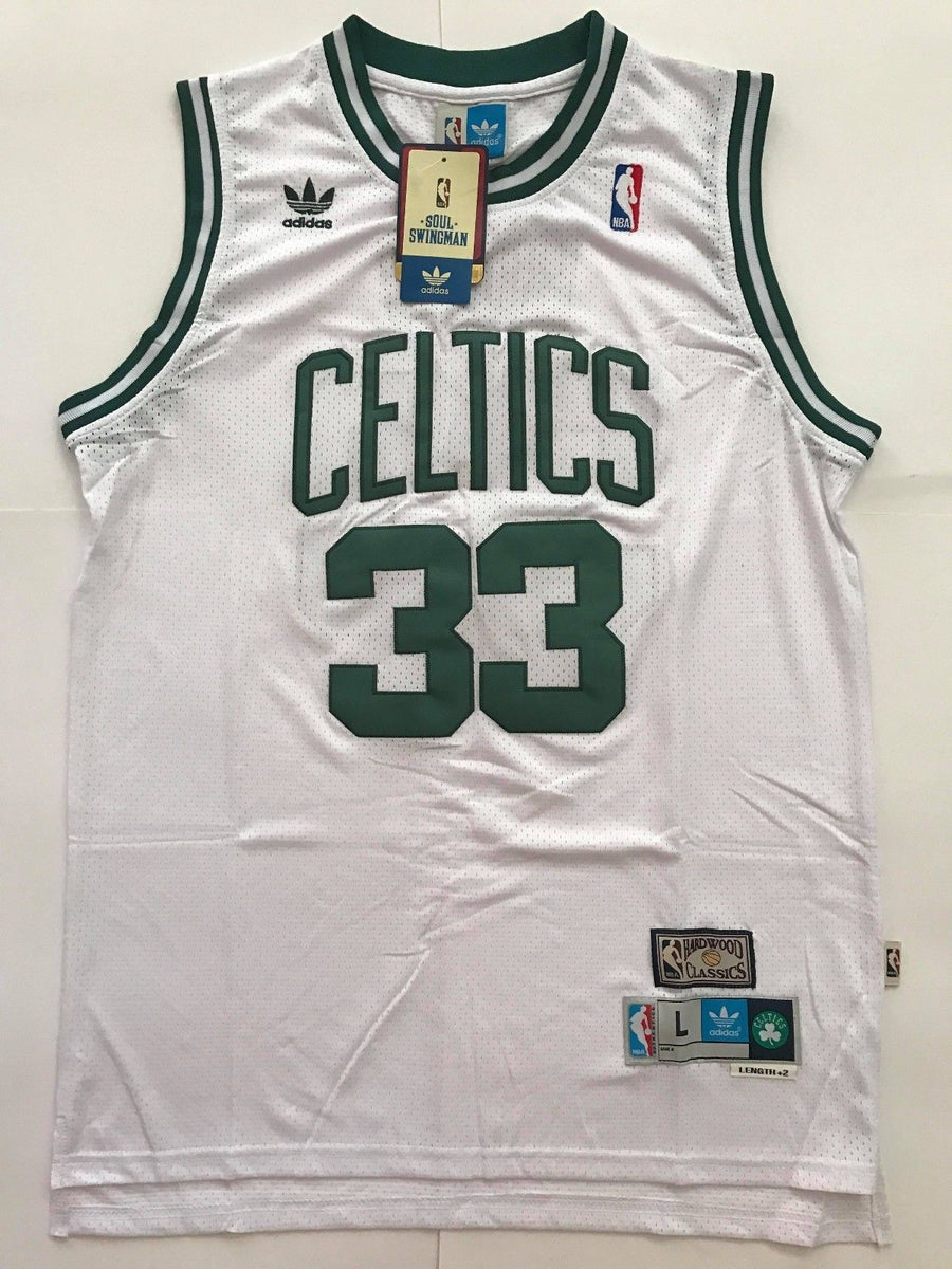 free shipping ad236 0084c Men 33 Larry Bird Jersey White Boston Celtics Swingman Jersey Fanatics