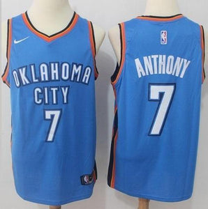 b7000485c7e Men 7 Carmelo Anthony Jersey Blue Oklahoma City Thunder Fanatics – nRevo