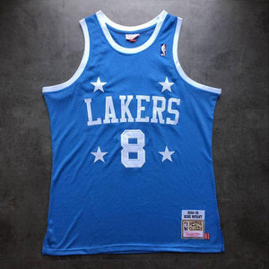 new product 4ec4a ba57e Men 8 Kobe Bryant Jersey Mitchell & Ness Blue Los Angeles ...