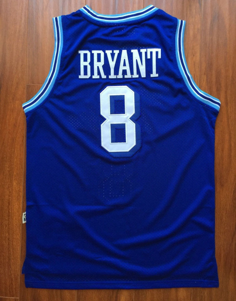 low priced a3613 b805a Men 8 Kobe Bryant Jersey Blue Christmas Los Angeles Lakers ...