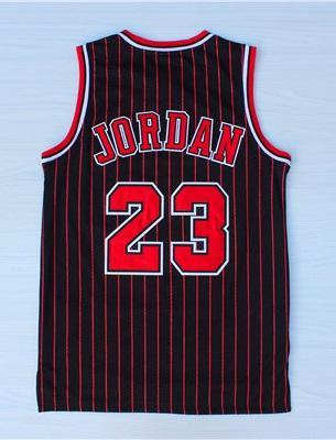 the best attitude 19ce2 52019 Men 23 Michael Jordan Jersey Black Chicago Bulls Jersey Hardwood Classics