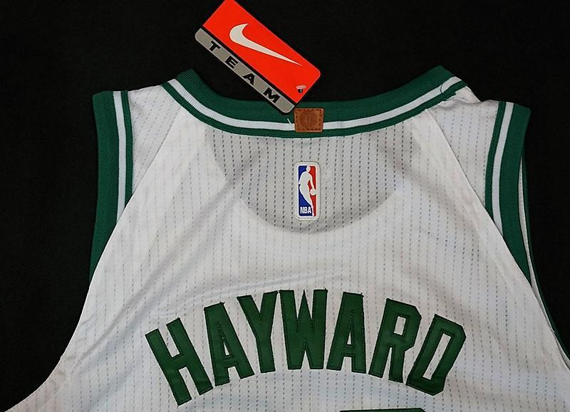 hot sale online 318be 6ddcc Men 20 Gordon Hayward Jersey White Boston Celtics Swingman ...