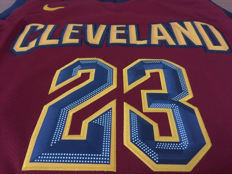 buy popular dc6f9 2452f Men CAVS 23 Lebron James Jersey Red Cleveland Cavaliers Jersey Fanatics