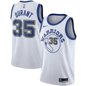 watch bcb14 d10d5 Men Golden State Warriors 35 Kevin Durant the Town Jersey White Fans
