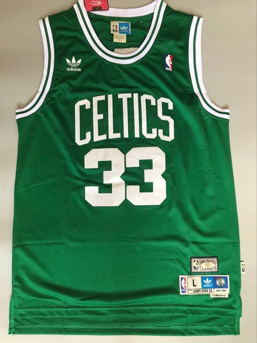 more photos 944a4 4fc73 Men 33 Larry Bird Jersey Green Boston Celtics Swingman Jersey Fanatics