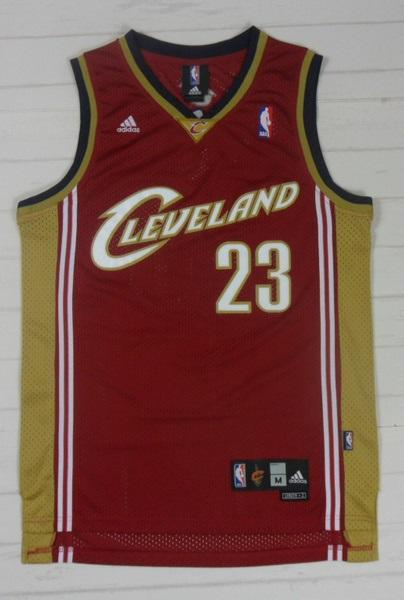 sale retailer b132f 39305 Men 23 Lebron James Swingman Jersey Red Cleveland Cavaliers Jersey