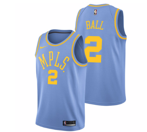 e7481eb21ff Men 2 Lonzo Ball Jersey Blue Los Angeles Lakers MPLS Fanatics – nRevo