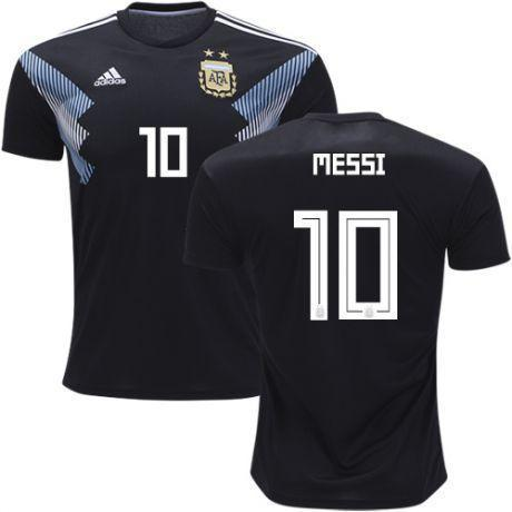 quality design cdcd8 ecc80 Men #10 Lionel Messi Jersey Argentina National 2018 FIFA World Cup Player