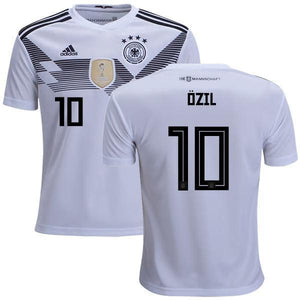 brand new 172f7 3b6db Men #10 Ozil Jersey Home Germany National 2018 FIFA World Cup