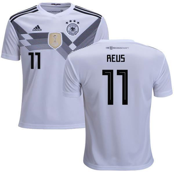1e7470046 Men #11 Reus Jersey Home Germany National 2018 FIFA World Cup – nRevo